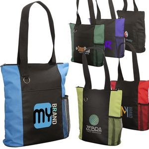 Essential Trade Show Tote w/Zipper Closure