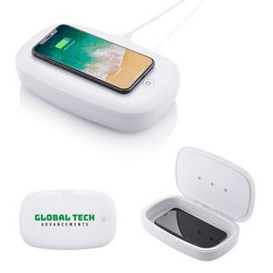 UV Phone Sanitizer w/Wireless Charger