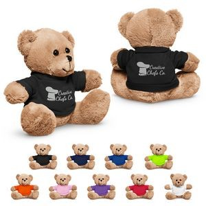 "7"" Plush Bear w/T-Shirt"
